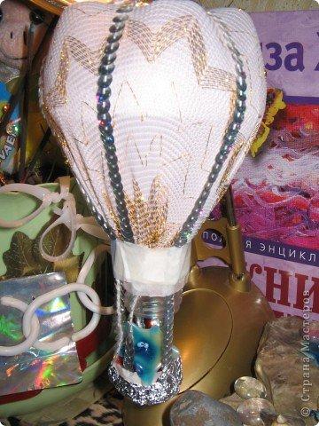 Воздушный ШАР из БУТЫЛКИ фото 7