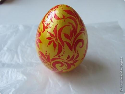 Яйцо под хохлому фото 5
