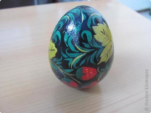 Яйцо под хохлому фото 2