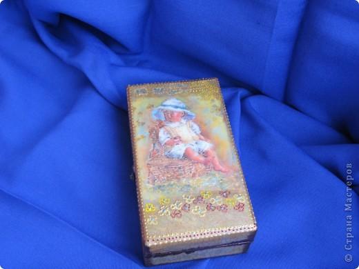 Шкатулочка для маленькой принцессы. фото 11