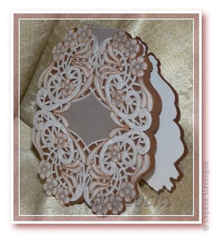 Шоколад с кружевами фото 1