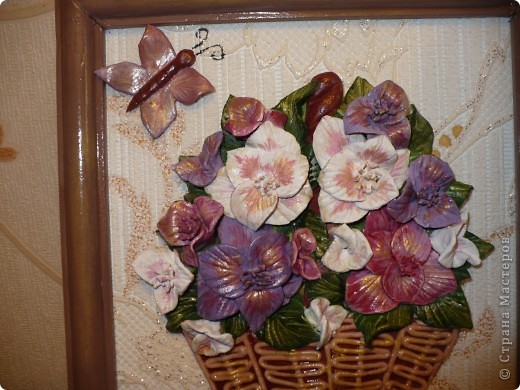 Незнаю какие, но цветочки красивые (вообще цветок гладиолуса, по МК Тани вишенки). фото 2