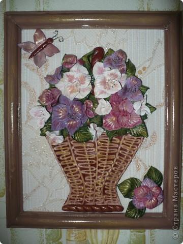 Незнаю какие, но цветочки красивые (вообще цветок гладиолуса, по МК Тани вишенки). фото 1