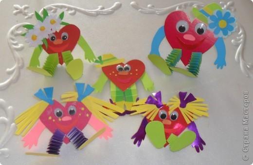 Открытка ко Святого Валентина. фото 1
