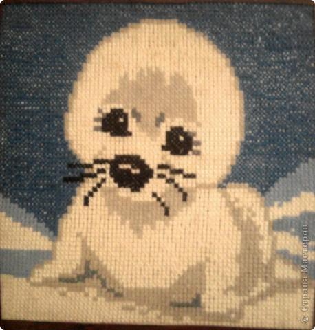 первая работа в вышивании