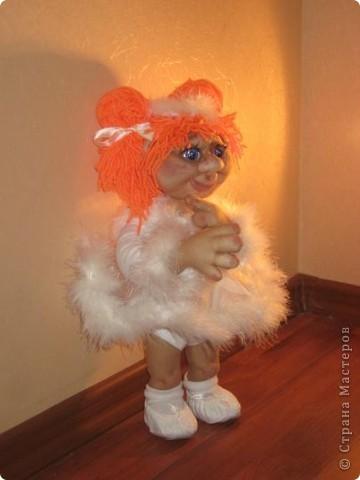 """девчушка в костюме для танца """"Козлята"""" фото 1"""