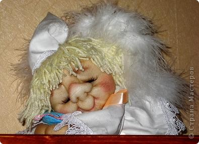 Вот мой первый сплюшка. Он поселился у старшей дочери и сладко спит. фото 2