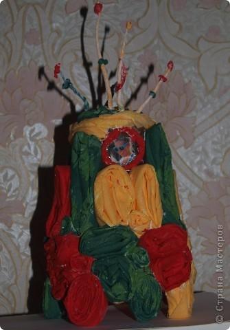"""Вот такой """"Гламуролёт"""" выполнила Потехина Катя, 9 лет,3 класс. фото 3"""