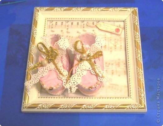 """""""Повторюша """"от tanjusha. Пинеточки - мой подарок на крестины. фото 3"""