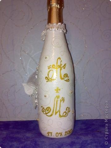 свадебная бутылочка фото 2