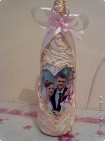 бутылочка на ситцевую свадьбу фото 1