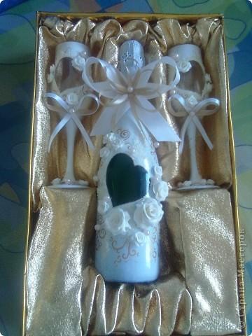 Заказ на свадьбу...первая работа с пластикой,как говорится-глаза боятся,а руки делают!! фото 2