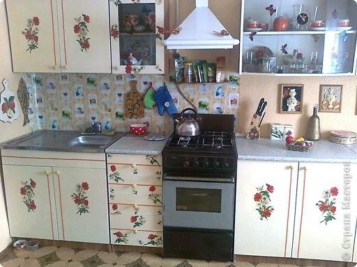 Новый гарнитур кухонный получился вот таким фото 1