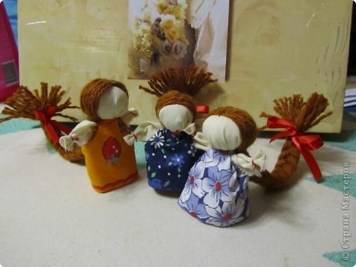 """Куклы счастье """"три подружки"""" фото 1"""