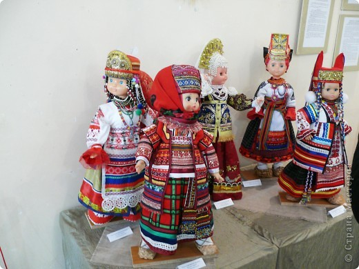 Куклы в национальных костюмах фото 1