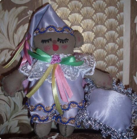 Вот такого ангелочка я пошила для Игнаши, выкройку брала где то в интернете, за что огромное спасибо!!!!!!!!!!!!!! фото 1