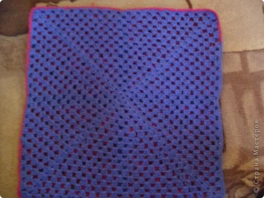 Вот моя первая в жизни связанная сумка. фото 8