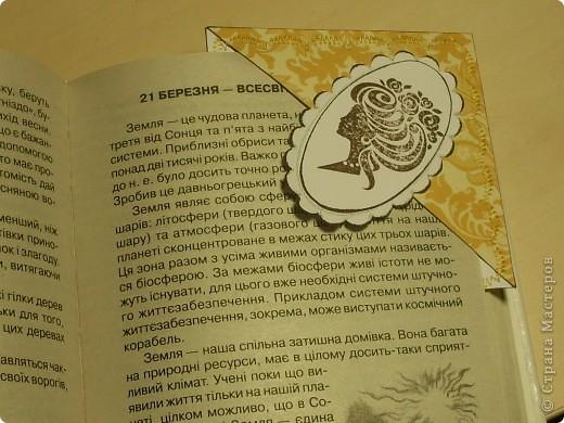 К дню Рождения подруги сделала ей такие небольшие сувенирчики - закладки-уголки. Читать она любит, так что надеюсь они ей пригодятся)) фото 5