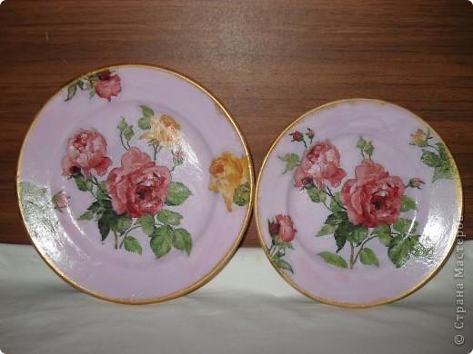 Моя самая первая тарелка.... глядя на ваши работы понимаю, что не очень удачная... фото 5