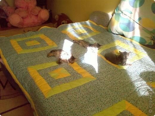 Вот такое одеялко получилось)))