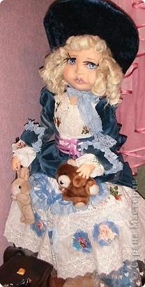 авторская интерьерная кукла  фото 2