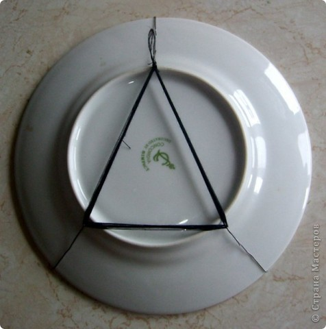 """Нашла в интернете интересное решение с """"крючками"""" для тарелок. фото 1"""