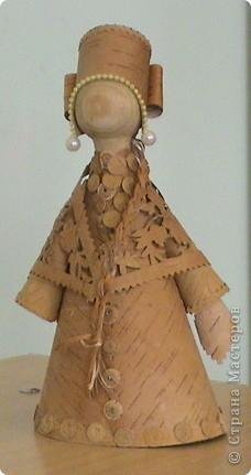 Увидели в Стране мастеров кукол-берегинь из бересты и решили добавить своих. фото 1