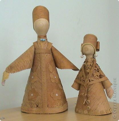 Увидели в Стране мастеров кукол-берегинь из бересты и решили добавить своих. фото 2