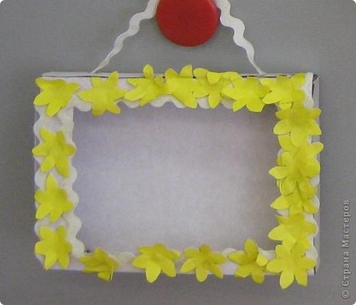 Рамки для фотографий. Первые работы моих малышей  фото 6