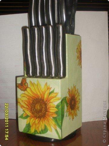 Подставка для ножей. фото 1
