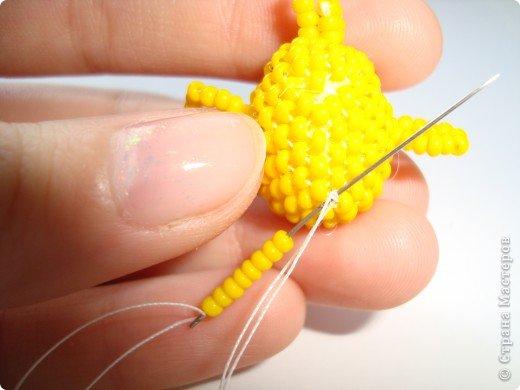 Это мой первый мастер-класс в технике мозаичного плетения. Надеюсь, вам понравится! фото 34