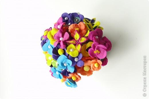 цветочки из Холодного Фарфора фото 1