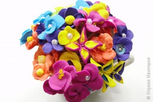 цветочки из Холодного Фарфора фото 2