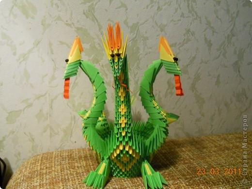 Следущий год--год дракона. предлагаю Вам сделать вот такого дракошу. фото 1