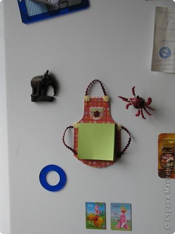 так выглядит магнит в интерьере холодильника! :)  фото 1