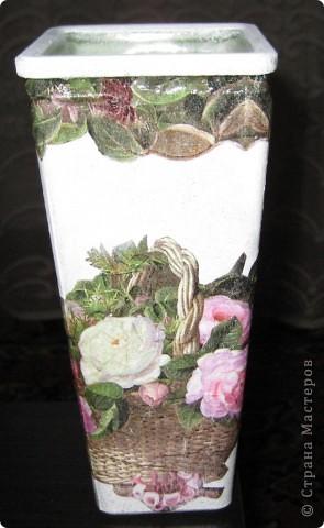Моя первая вазочка! фото 1