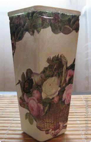 Моя первая вазочка! фото 2