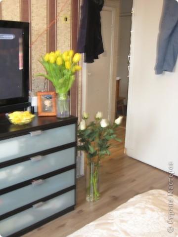 комод и цветы. так приятно на них смотреть! фото 1