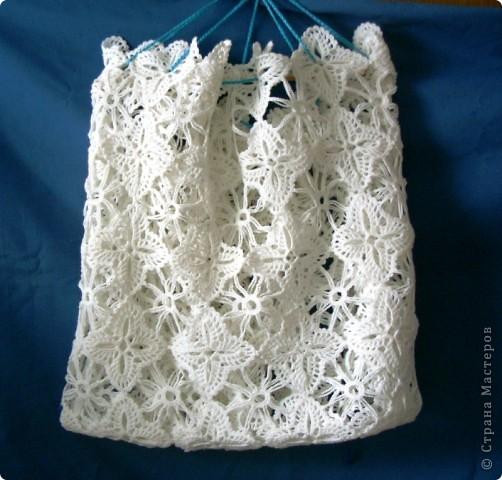 Такая сумочка  подойдет как для подарка,так и для выхода на пляж жарким летом. фото 1