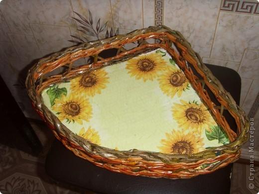 Наконец-то я начала опять свое любимое плетение,а то всё какие-то дела (то шитье,то вязание).Сплела вот такой наборчик в кухню. фото 2