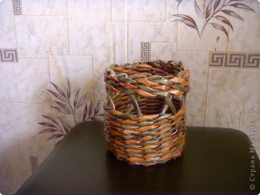 Наконец-то я начала опять свое любимое плетение,а то всё какие-то дела (то шитье,то вязание).Сплела вот такой наборчик в кухню. фото 3