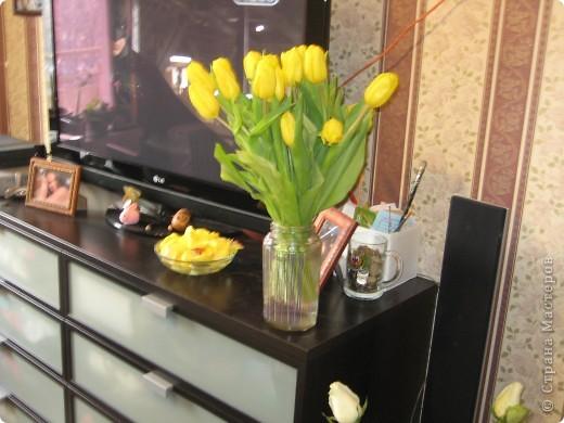 комод и цветы. так приятно на них смотреть! фото 3