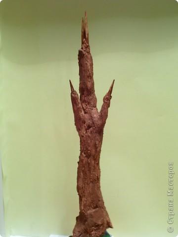 Это моё первое деревце. Я впервые пробую себя в технике торцевание поэтому не судите строго... фото 6