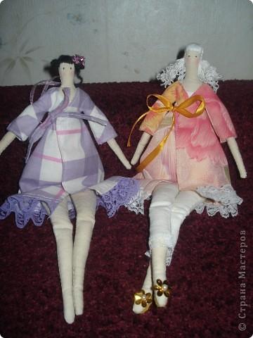 Мои первые куколки Тильдочки