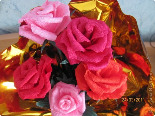Букетик роз!!!! фото 2
