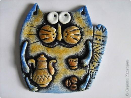 Очередные коты! Очень легко лепятся и еще легче разрисовываются))  фото 7