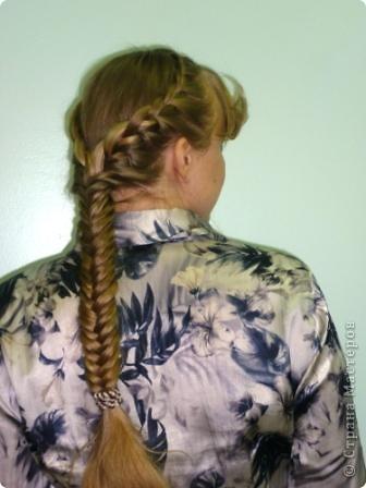 Причёска была сделана, чтобы поднять настроение, придать силы для проведения открытого урока на научно - практическом семинаре  - 19.03.2011