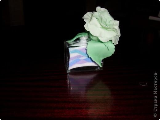 насыпушка и розочка + флакон от духов фото 2