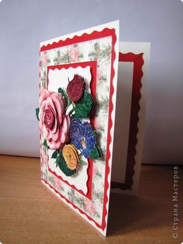 открытки в технике 3д фото 3