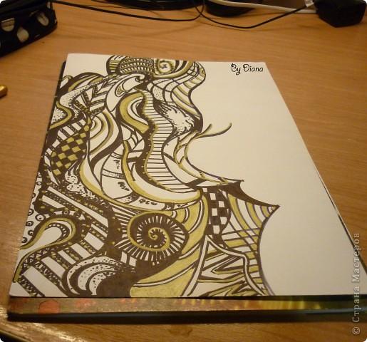 рисунок нарисованный с помощью маркеров:) фото 1